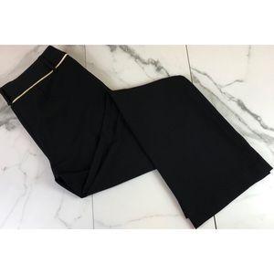 Cache Black w/ Gold Detail Bootcut Dress Pants 4